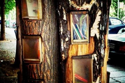 Bookcrossing: Holmes reist um dieWelt