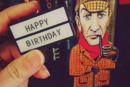 Happy 'Birthday', Mr.Holmes
