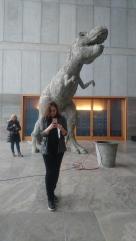 Selfie mit T-Rex