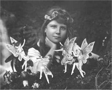 Cottingley Fairies - Quelle: Wikipedia