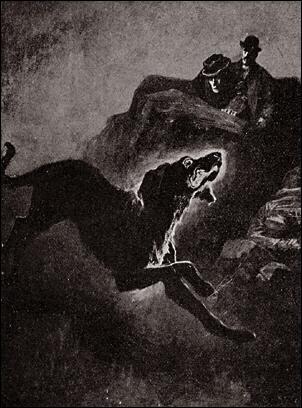 Houn-53_-_The_coal-black_Hound_(Hound_of_Baskervilles)