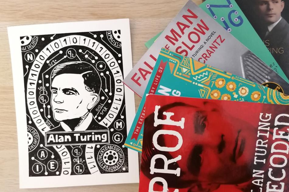 Biografien, Kinderbücher und Kriminalromane: Bücher über das Leben von Alan Turing(2)